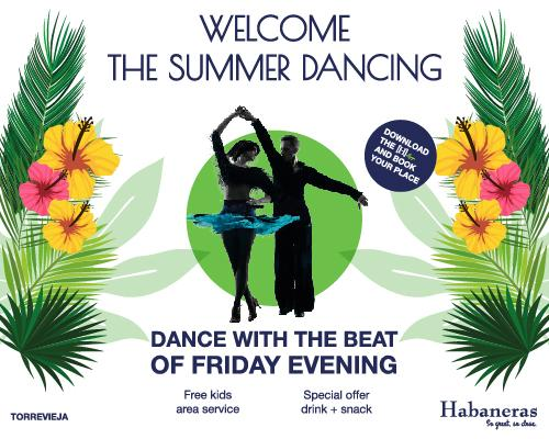Welcome the summer dancing.